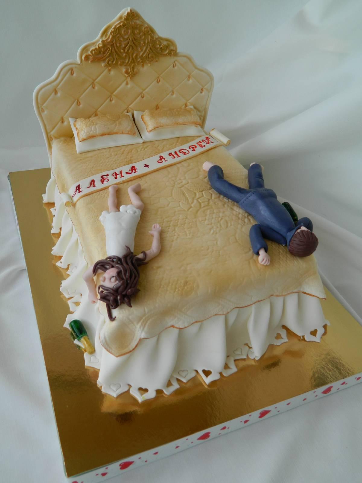 Креативный торт на годовщину свадьбы фото