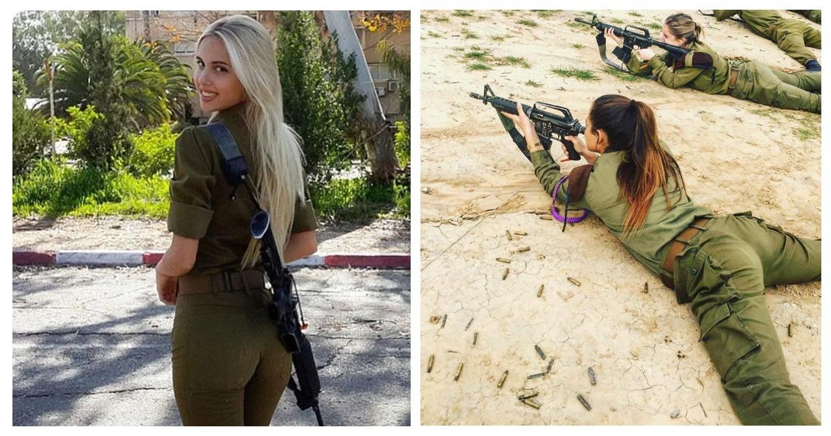 Сексуальные девушки в военной форме без лица