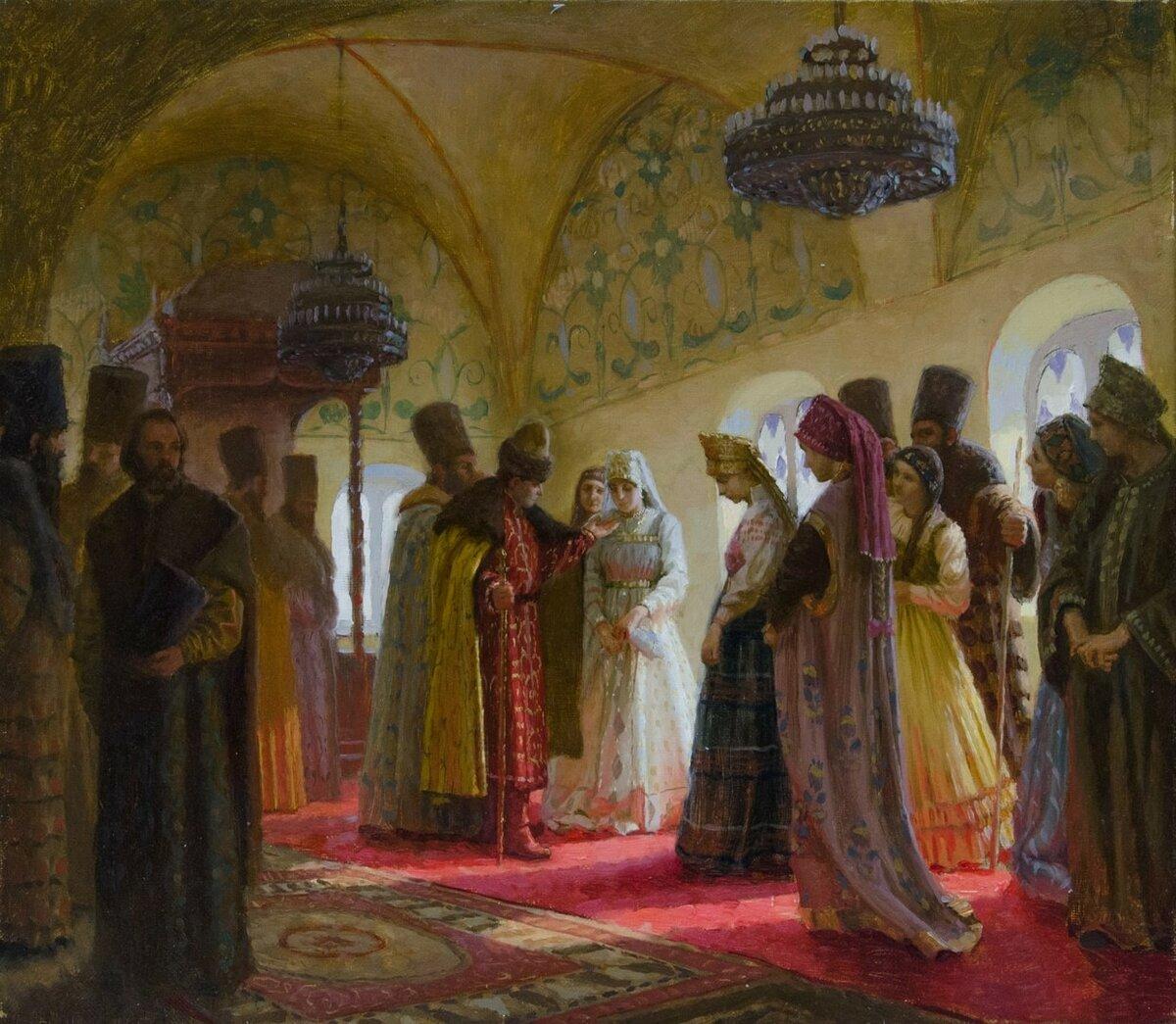 Через что проходили девушки на Руси, чтобы стать женой царя
