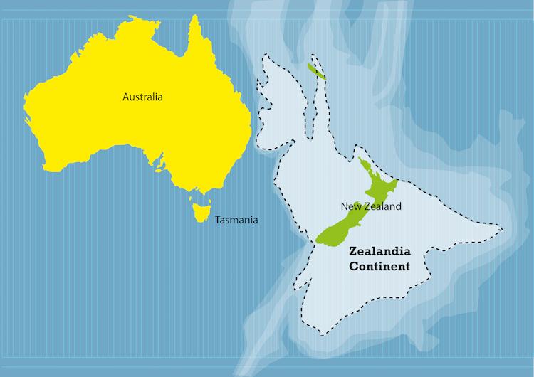 Ученые нашли затонувший континент, почти полностью покрытый водой