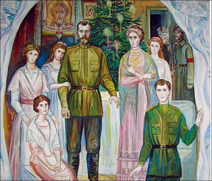 Как праздновали Рождество в семье Императора
